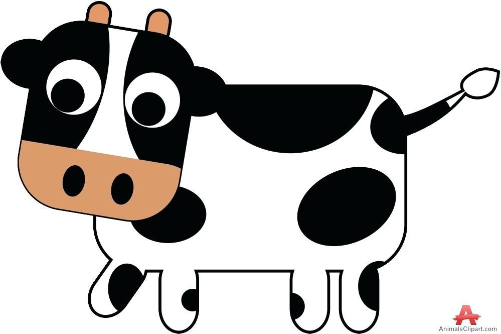 Cow clip art simple. Cliparts bug free clipart