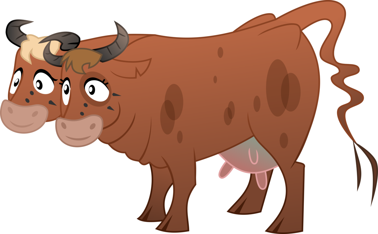 Cow clip art transparent background. Artist littlestarwanderer brahmin
