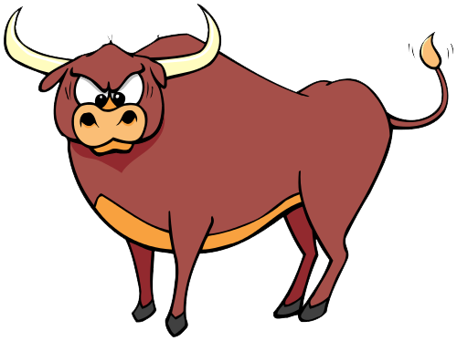 transparent bull official