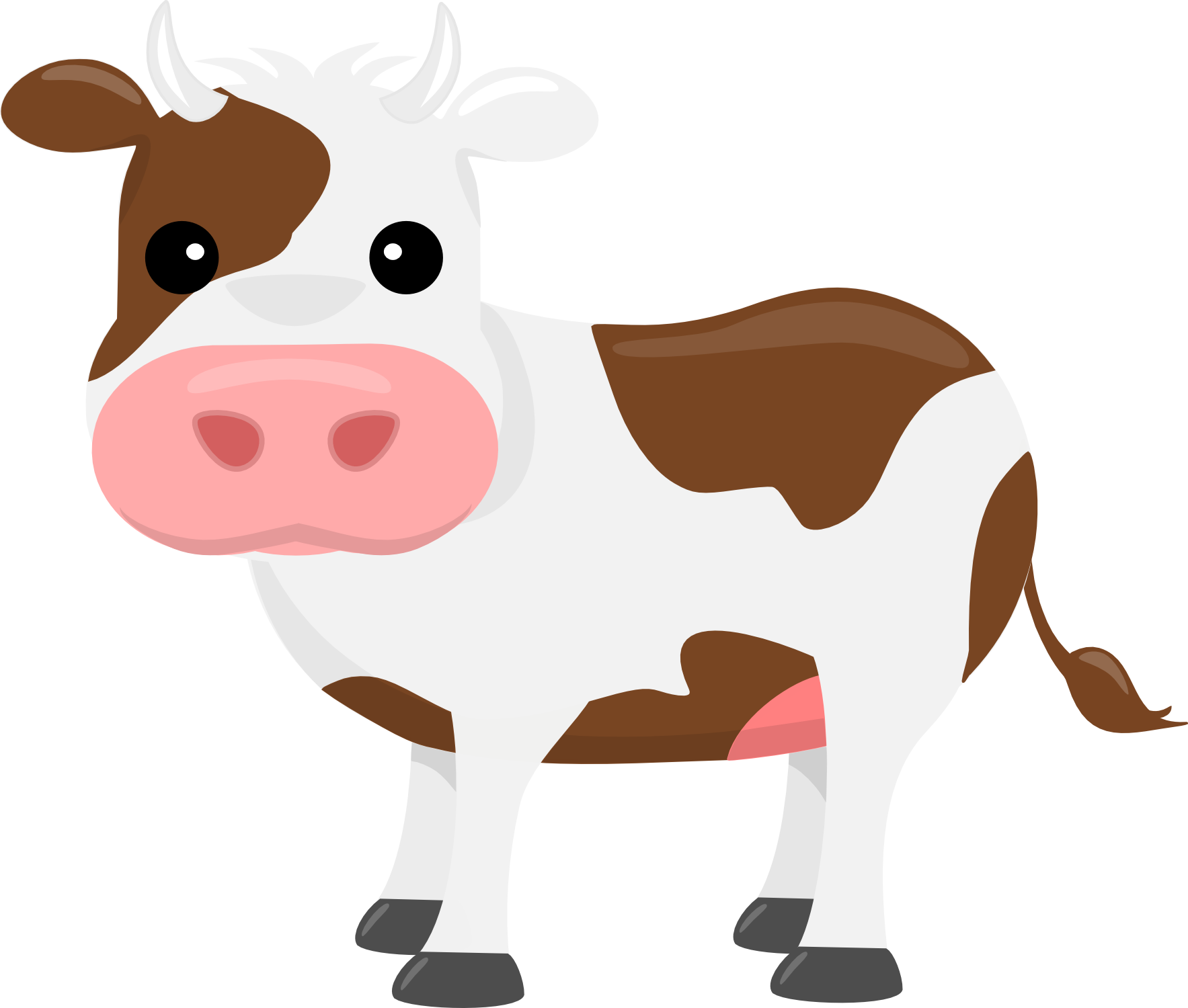 Cow clip art transparent background. Cattle clipart png pencil