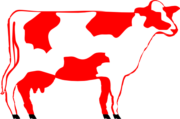 Cow clip art vintage. Free shorthorn cliparts download