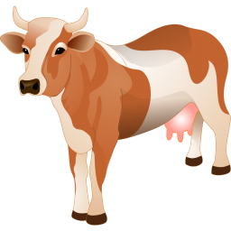 Cow icon png. Agriculture iconset aha soft