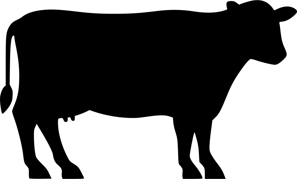 Cow icon png. Dairy svg free download