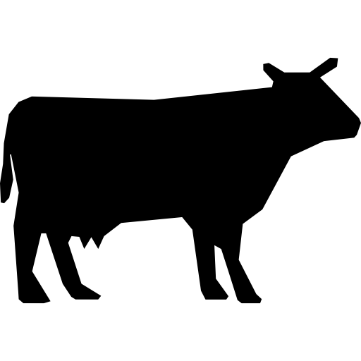 Cow icon png. Silhouette free animals icons