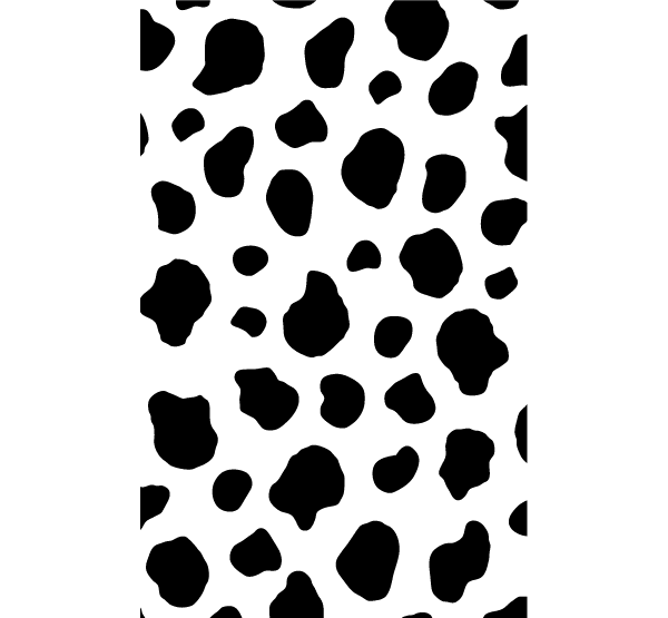 Cow paw. Free cliparts print download