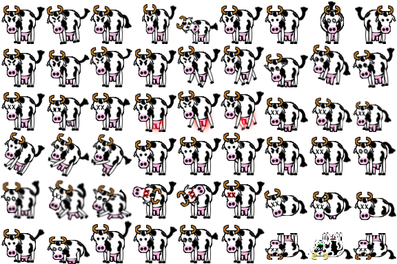 Cow sprite png. Moo the resource thread
