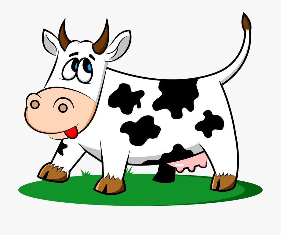 Cow tail. Cattle clipart old macdonald