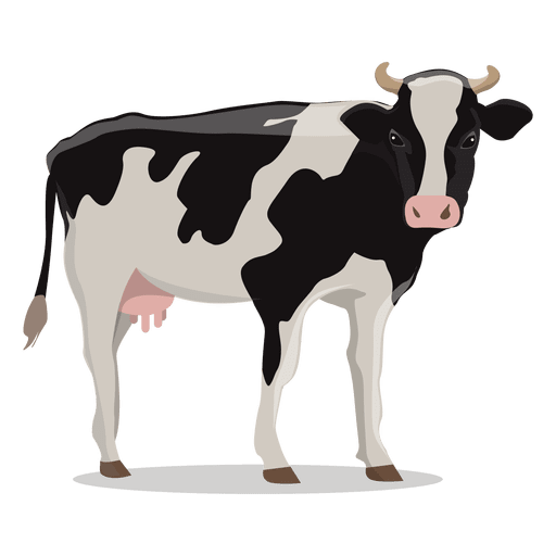 Cow vector png. Illustration farm transparent svg