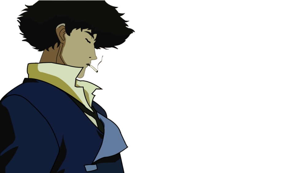 Cowboy bebop spike png. The th anniversary of