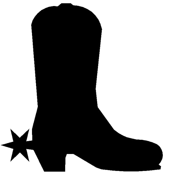 Cowboy boot png. Icon free icons and