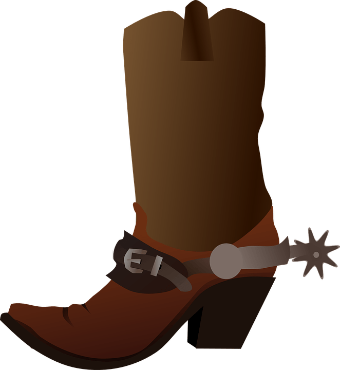 Cowboy boot png. Shoe transparent stickpng