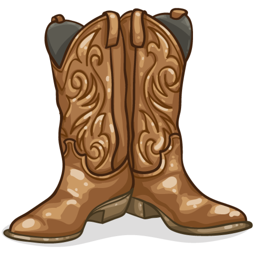 Boots svg spur drawing. Collection of cowboy