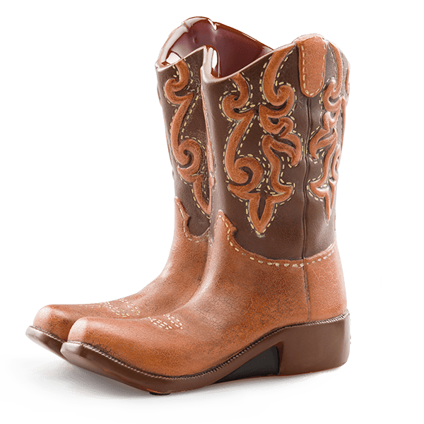 Cowboy boot png. Scentsy boots warmer order