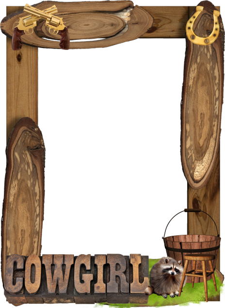Cowboy frame png. Exelent picture pictures frames