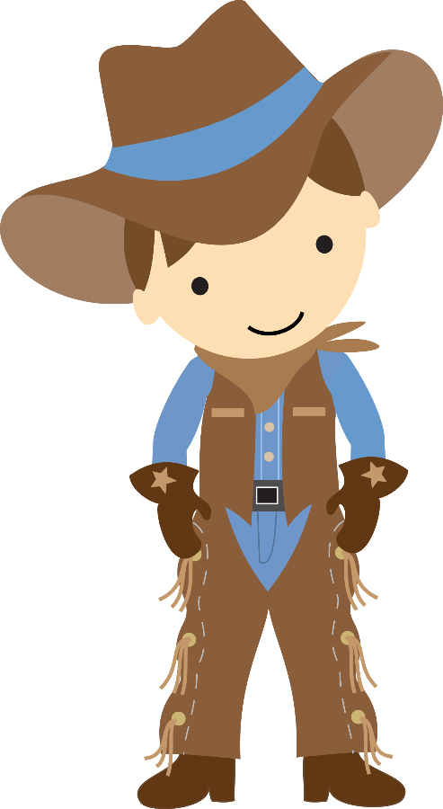 Cowboy e cowgirl minus. Western clipart picnic clipart transparent library