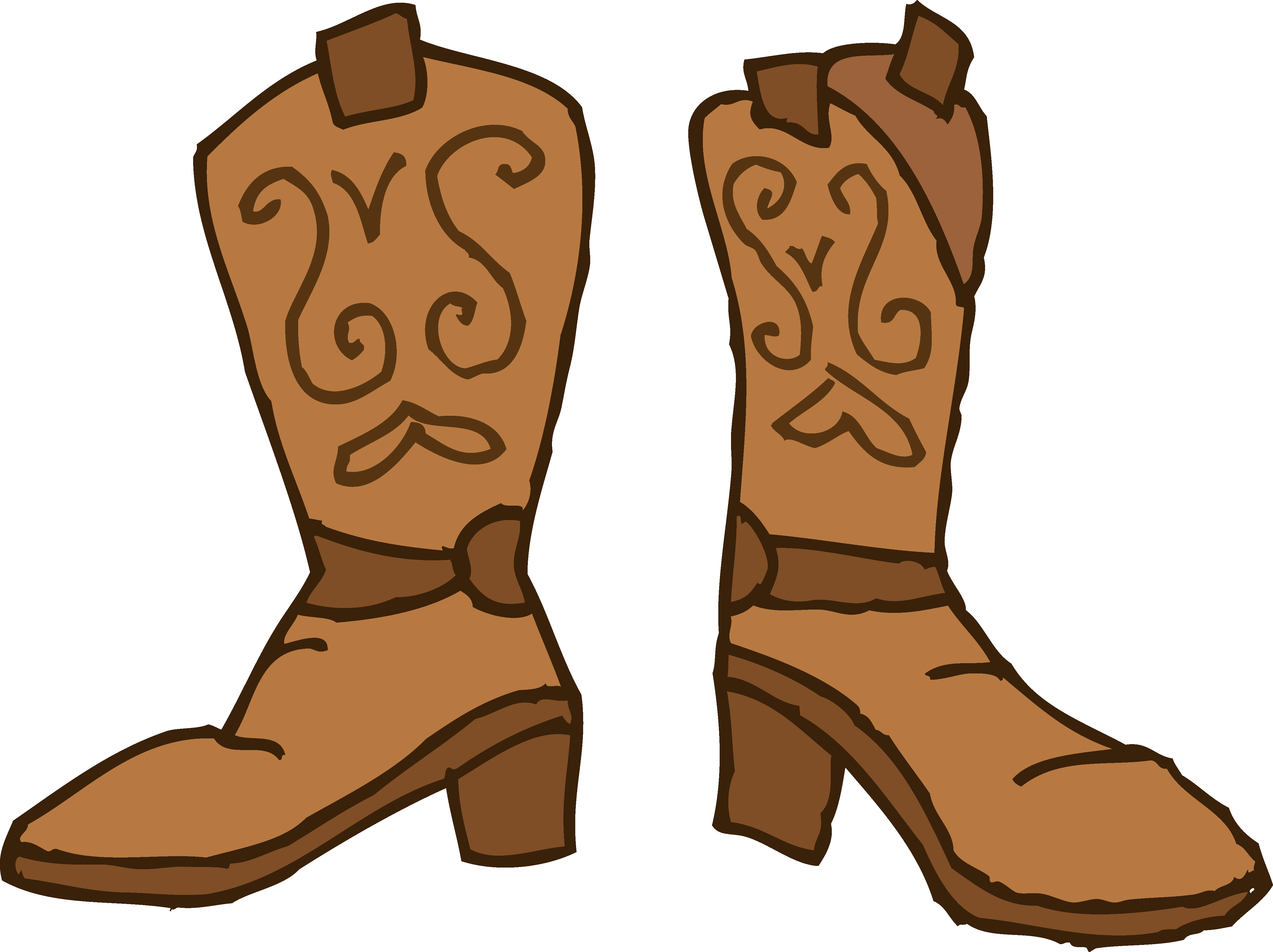 Boots cowboy star cartoon. Boot clipart png library library