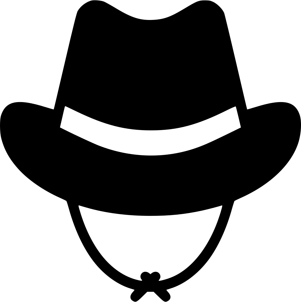 Cowboy svg icon. Hat png free download