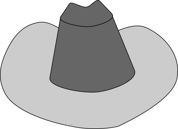 Hat clipper free download. Cowboy svg vector graphic transparent stock
