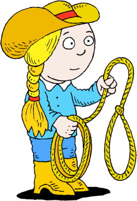 Cowgirl clipart lasso. Image with christart com