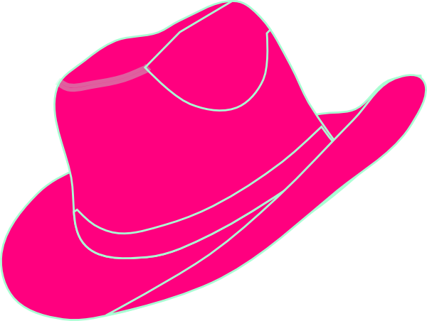 Clip fancy hat. Free pictures of cowgirl