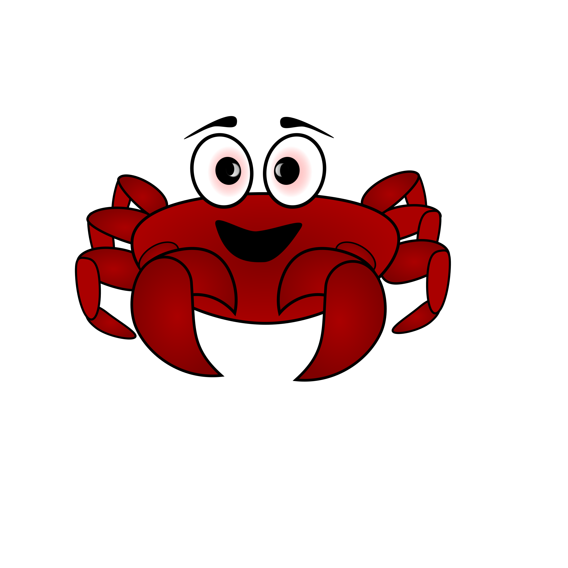 Pixelated crab png. Cartoon icons free and