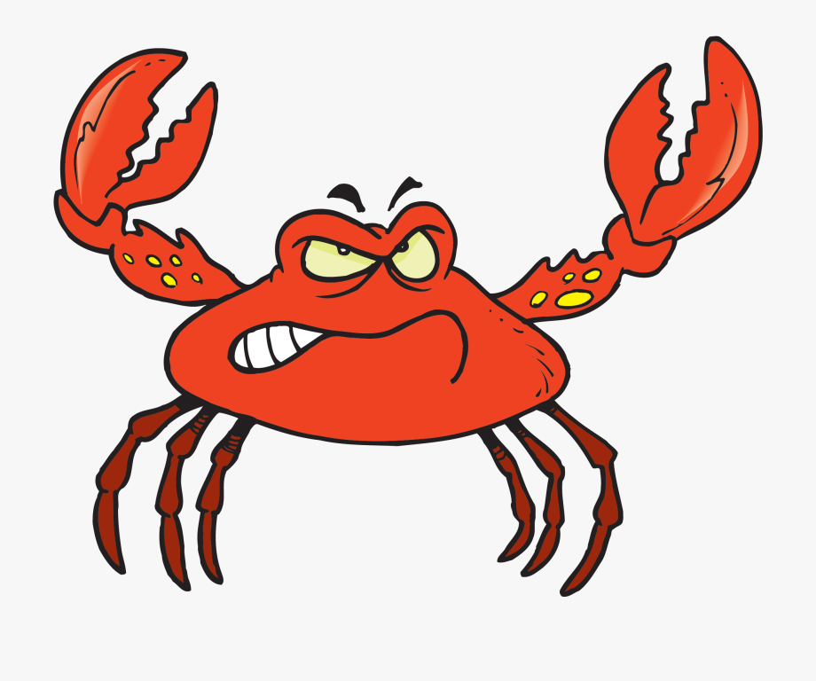 Crab paw. Crabs clipart claw cartoon