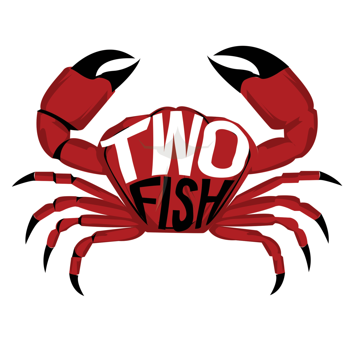 Crab claw png. Two fish shack