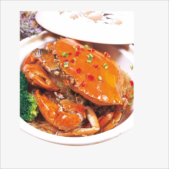 Crab clipart chilli crab. Crabs yangcheng lake specialty