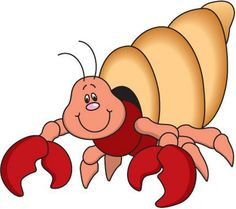 Crab clipart hermit crab. Cute free patterns quilting