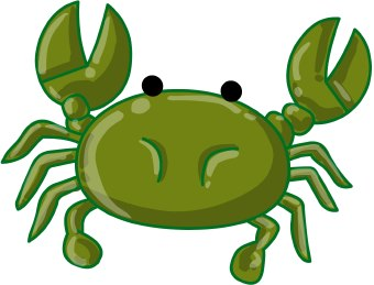 Crab clipart lobster. Claw panda free images