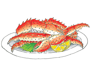 Carb legs png. A seafood celebration both