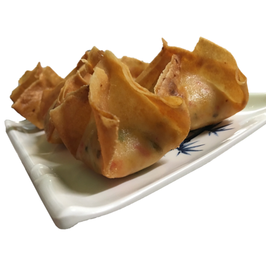 Crab rangoon png. China town