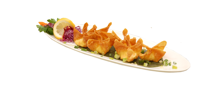 Crab rangoon png. Mae kong thai restaurant