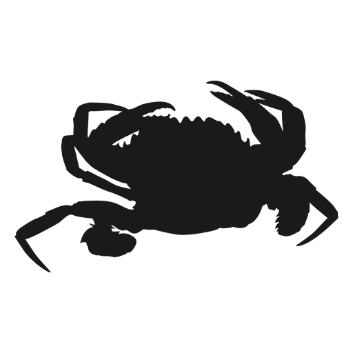 Crab silhouette png. Transparent svg vector graphic transparent library
