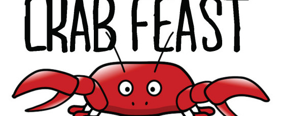 Crabs clipart crab feast. Outdoor this weekend piazza