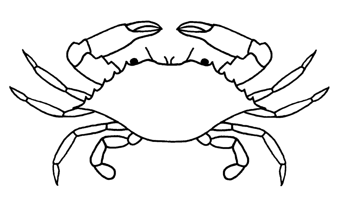 Crabs drawing. Clipart crab huge