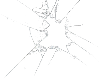 Cracked glass png. Transparent image