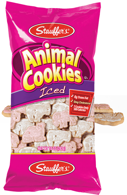 Cracker clipart cookie box. Iced animal cookies stauffer