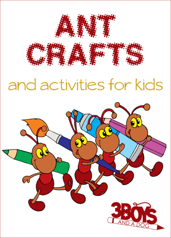 Craft clipart fun activity. Ant themed crafts and