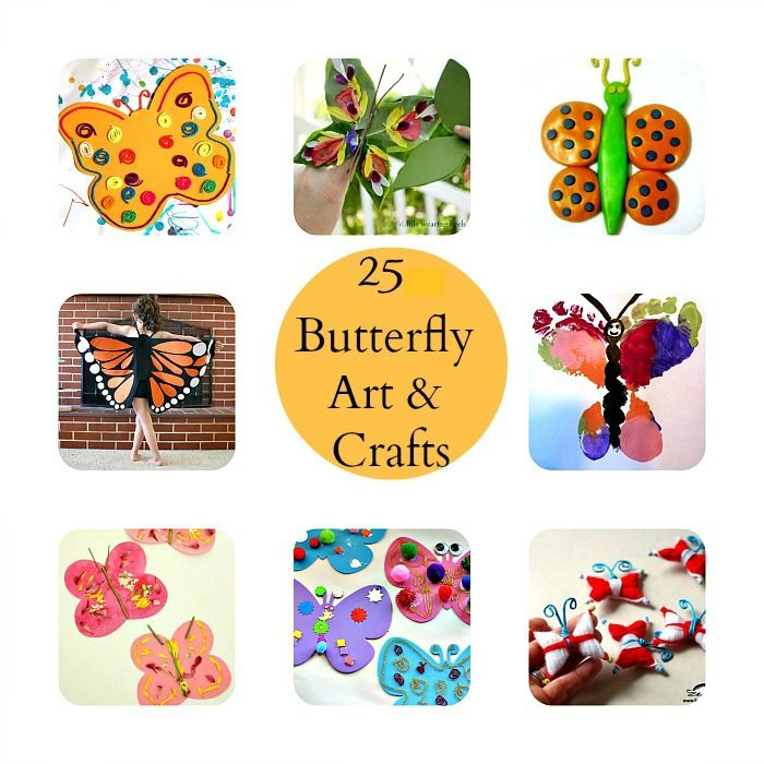 Craft clipart fun activity. Butterfly crafts and