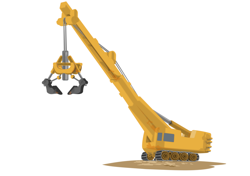 Crane clipart under construction. Mobile download heavy machinery