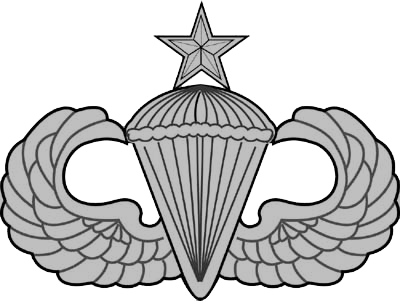 Crappie vector. Image jump wings usaf