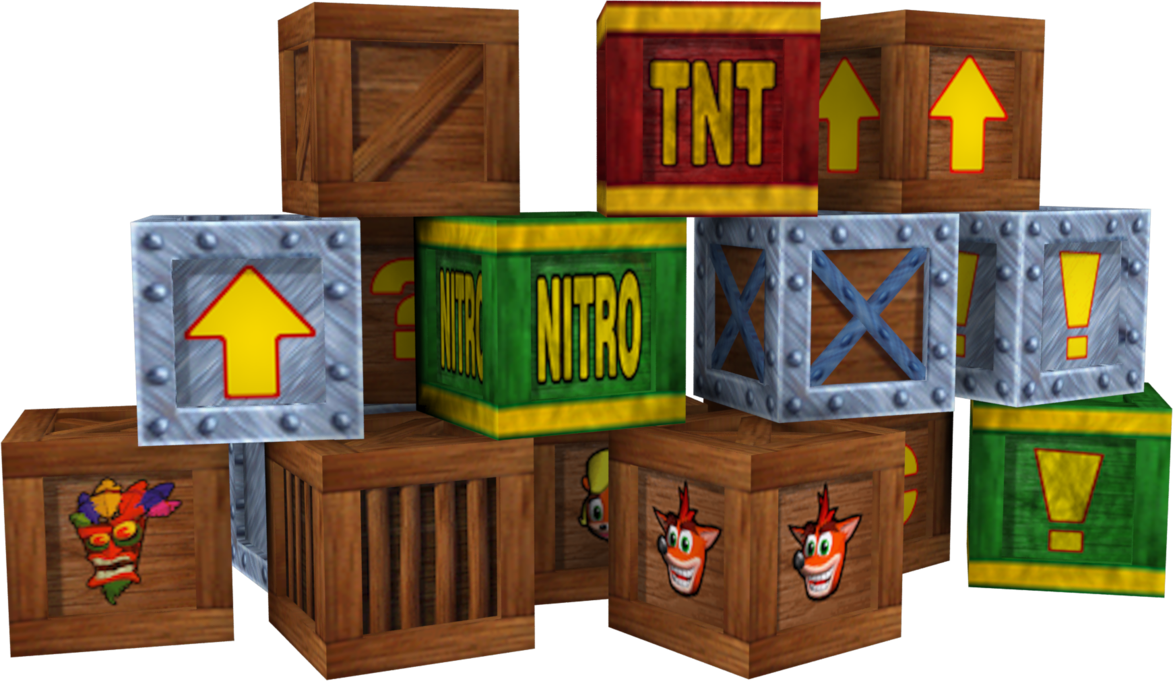 Crash bandicoot crate png. Crates the wrath of