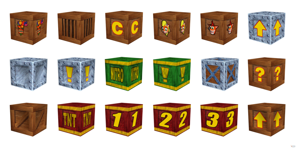 Crash bandicoot crate png. Image wrath of cortex