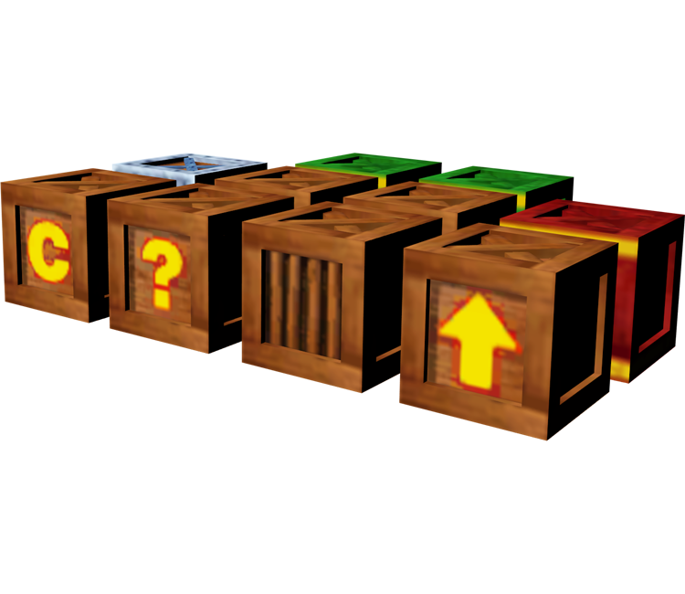 Crash bandicoot crate png. Gamecube the wrath of