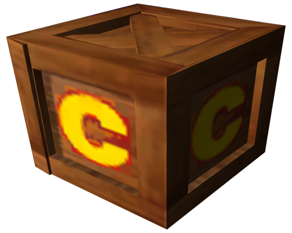 Crash bandicoot crate png. Image the wrath of