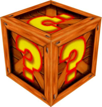 Crash bandicoot crate png. Image nitro kart bandipedia