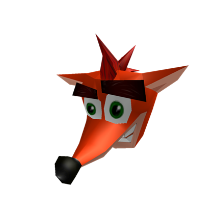 crash bandicoot head png