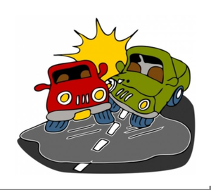 Crash clipart free clipart car. Accident images at clker