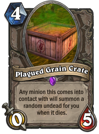 Crate grain png. Plagued customhearthstone